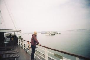 on board the cruise ship